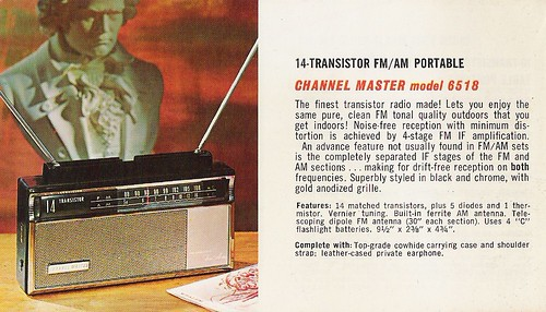 CHANNEL MASTER Radio, Television, Tape Recorder, Walkie Talkie and Interphone Brochure (USA 1961)_11