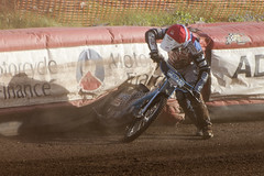 Quick Recovery (Richard Amor Allan) Tags: bike mud crash bikes cycle stokeontrent rider speedway cycles riders motorcyles scunthorpesaints stokepotters loomerroad ashleybirks