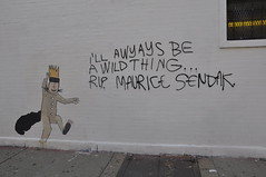 (dont fret) Tags: street chicago art graffiti maurice paste wheat dont tribute wicker fret sendak