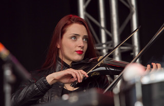 Judith van der Klip, Violiste, Blaudzun, Bevrijdingsfestival