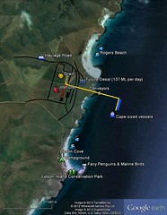 Map of proposed Port Spencer site, Lipson Cove and Lipson Island Conservation Park (danimations) Tags: chart swimming fishing map jetty southaustralia conservationpark littlebluepenguin fairypenguin marineconservation spencergulf sheephill penguinrookery portdevelopment cuttlefishcountry portspencer