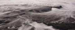 Mist Over The Rocks (Kuyan Redman) Tags: ocean sea white mist seascape black beach water d50 dark landscape ed landscapes nikon rocks long exposure seascapes australia ii nd tasmania 1855 devonport 2012 coles redman lightroom 4556 nd8 kuyan