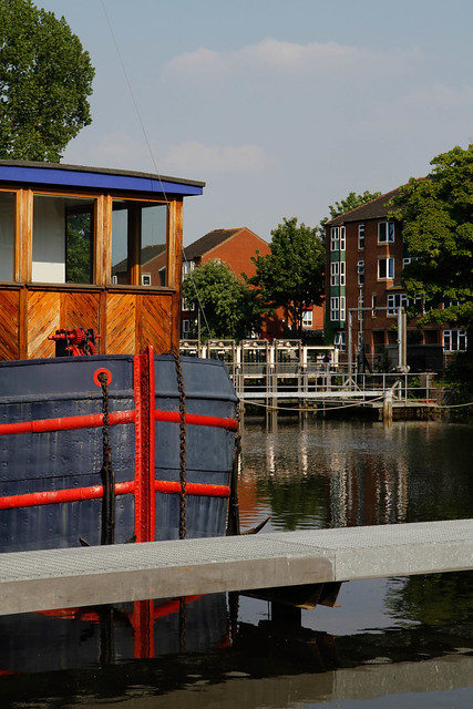 The Kennet by Blake's Lock Museum