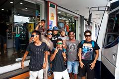 We picked up Mega at the surf shop in Padang (Rip Curl) Tags: sumatra indonesia surf surfing mentawais padang roxies macaronis gobleg indiesexplorer ripcurlpromentawai ripcurlmacaronis garutwidiarta