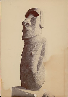 Effigy Called Hoa-Haka-Nana-La Moai 1868Hoa Hakananai'a is housed in the British Museum in London