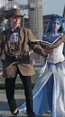 Corpse Bride II [Cosplay] (The Arklight) Tags: uk london eye film make up comic expo cosplay gothic goth makeup contacts johnny animation animated johnnydepp depp dep comiccon brilliant con timburton corpsebride mcm heri londonmcmexpo arklight mkocha herimkocha thearklight
