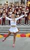 Img284914nx2 (veryamateurish) Tags: london trafalgarsquare cheerleaders band usc universityofsoutherncalifornia girl woman miniskirt