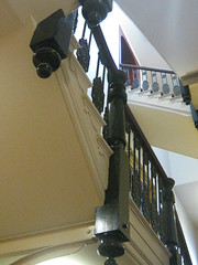 Looking up the Staircase of the Ballarat Mechanics' Institute - Sturt Street, Ballarat (raaen99) Tags: door city detail building heritage stairs century education iron library steps entrance australia victoria institute landing doorway national staircase victoriana trust castiron civic classical 1850s ballarat 19th goldrush listed balustrade ornamentation nineteenth fretwork 1859 countryvictoria mechanicsinstitute freelibrary adulteducation newelpost sturtstreet heritageweekend sturtst flightofstairs goldrushera provincialvictoria ballaratmechanicsinstitute educationalestablishment ballaratheritageweekend technicalinstitution landmarkbuildingarchitecture historyhistoricaldecoration1860s1870s
