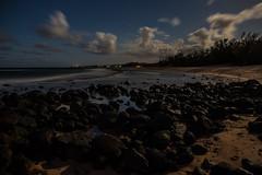 Baby Beach by Moonlight (Richard Saasta, Sharing the Beauty) Tags: ocean longexposure seascape clouds hawaii maui beaches baldwin babybeach richardsaasta maui2012