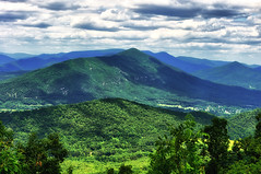 Blue Ridge Parkway Overlook (loco's photos) Tags: blue light sky mountains green nature clouds landscape outdoors virginia scenery shadows pentax buchanan software nik kr overlook blueridgeparkway purgatory thunderridge purgatorymountain da5514