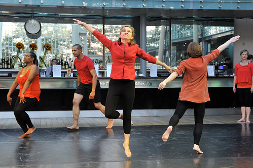 A dance workshop with Royal Opera House Learning © Brian Slater/ROH 2012