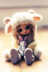 Candy candy ~  (Rainbow Magical Orchestra ) Tags: cute flora doll dolls little tiny bjd pullip lovely fairyland obitsu azazelle pukife hpopo