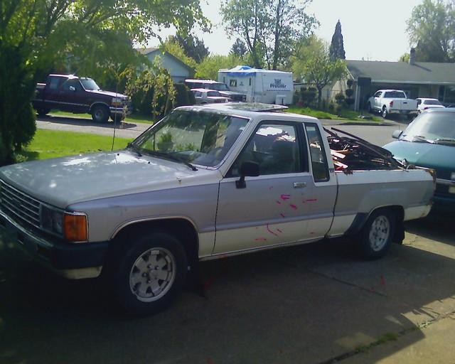 2 wheel drive pickup 1984 toyota 2wd 84 sr5
