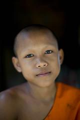 Dge Slong Pha (Tazza_di_Burro) Tags: travel portrait people face canon photography eos 50mm sguardo laos ritratti markiii cambogia canonef50mmf12lusm canoneos5dmarkiii