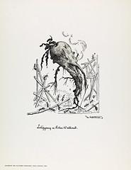 Lediggang er Roden til alt ondt (National Library of Norway) Tags: humor karikatur wurzel komisch zeichnung proverbs rbe karikaturer ordsprog nasjonalbiblioteket theodorkittelsen ordsprk lediggangerrodentilaltondt nationallibraryofnorway lediggangerrotentilaltondt