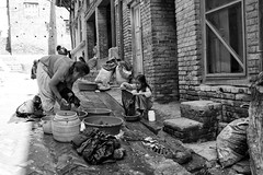 Nepal - Bhaktapur, sunny day (alexander.ess) Tags: world street new city trip light portrait people blackandwhite bw black color animal night canon germany landscape photography photo nikon raw fuji photos swiss sony streetphotography olympus moment tog carlzeiss