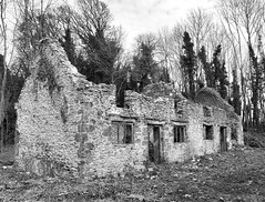 Great Tew (1) (Fragglehound) Tags: history abandoned monochrome architecture decay derelict oxfordshire hdr greattew twitter