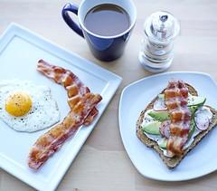 Breakfast made easy, just add FARMER JOHN Bacon. Yum! (farmerjohnla) Tags: coffee breakfast bacon dish toast bae baconandeggs farmerjohn thebaconparty farmerjohnla