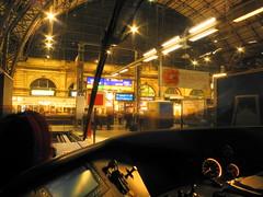 In Frankfurt angekommen - fast Feierabend? (marcelmehlhorn) Tags: night nacht tsb hauptbahnhof lint frankfurtmain hlb fke fhrerstand