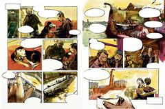 Revue Casier[s] N1 - pages 6-7 (www.abirato.com) Tags: brest guerre bd espagne refugies sousmarin capucins revuecasiers r2bd