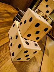 cameraphone california wood stilllife dice mobile wooden... (Photo: Thad Zajdowicz on Flickr)