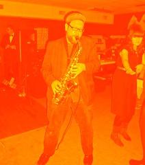 Hal McGee's 52nd Birthday Show (C. Neil Scott) Tags: florida sax saxophone beakers gainesvillefl thelaboratory noisefestival halmcgee halmcgeebirthdayparty halmcgees52ndbirthdayshow