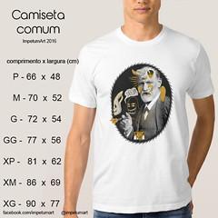 Camiseta Masculina (IMPETUM T) Tags: art moda infantil indie camiseta altura roupas tamanho ilustraes blusas babylook vestimentas comprimento largura impetum impetumart