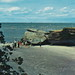 CEN Port Austin Caseville MI 1950s TITANIA PARK LOOSEMORE ROCK this Rocky Beachfront has be a FAMILY FUN spot for generations Loosemore Point  also called HAT POINT1