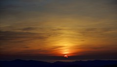 Sunset in Volterra (Antonio Cinotti ) Tags: sunset italy clouds landscape nikon italia tramonto nuvole volterra hills tuscany siena toscana paesaggio colline d7100 nikon1685 nikond7100