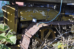 Rare Fordson (Chris Mullineux) Tags: old tractor wales yard vehicles scrap crawler sodom fordson northwales bodfrai