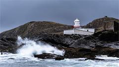Valentina Lighthouse (D.A. Lichtbilder) Tags: ocean ireland sea lighthouse water nikon rocks meer wasser nebel d70 stones foggy irland eire kerry ring berge steine rainy foam killarney fx regen leuchtturm valentina ozean gischt