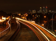 City Lights Mt Lawley (Graham R3) Tags: citylights rushhour mtlawley perthcity