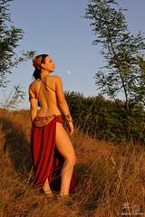 Leila Schiava (Andrea il_Dindi Berin) Tags: leila leia principessa princes schiava slave cosplay cosplayer nikon nikkor girl brunette boobs starwars starwar jedi