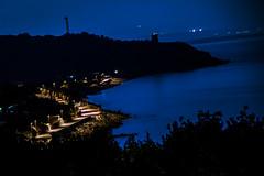 Joppolo torre night (aresscc) Tags: nightphotography sea italy panorama night photography mar nikon italia mare torre lungomare montagna calabria paesaggio parnaso monteporo joppolo nightpotography nikonflickraward