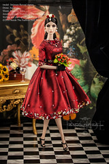 Agnes at the Palazzo (think_pink1265) Tags: fashiondoll dollphotography integritytoys canon40d agnesvonweiss dolldiorama ooakcouture 16furniture ooakdollclothing fashiondollphotography canonmacro60mmf28 fiorellasilkstonebarbie integritytoys2014 glossconvention intimaterevealagnes aquatalis ooak16dollcouture