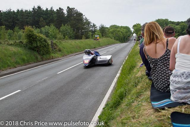 IOM TT Sure Sidecar Race 2 10th June 2016