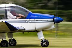 G-EUSO Robin DR400/140 Major (amisbk196) Tags: uk robin major kent unitedkingdom aircraft aviation amis 2016 headcorn lashenden geuso dr400140