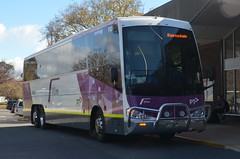 Dysons VLINE Scania (denmac25) Tags: bus outdoors action transport canberra act scania dysons