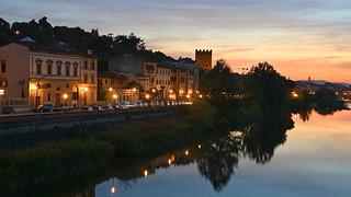 abends am Arno