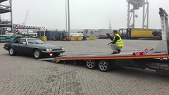 Parking instructions... (Pim Stouten) Tags: auto haven car port rotterdam restore vehicle jag restoration xjs jaguar gt hafen 53 kar seaport coup transporter v12 restauratie wagen pkw botlek vhicule autoambulance mcchina