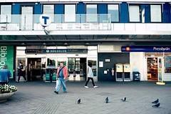 (nypan_sthlm) Tags: street people urban architecture subway metro stockholm hgdalen