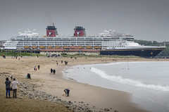 Disney Magic (DM Allan) Tags: cruise river south magic disney tyne tyneside groyne shields liner