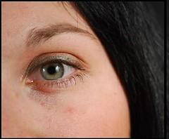 Regard (fatihaben) Tags: iris france femme vert yeux belle sublime fille vue visage regard voir hypnotique regarder ados sourcils pupille cils hypnose voyeuse voyance