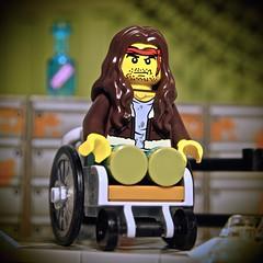 Lieutenant Dan (legophthalmos) Tags: classic dan movie war lego forrest wheelchair vietnam gump veteran 60134 ieutenant
