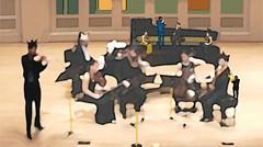 Le Concert (Jrme Vallet) Tags: concert piano alto jv violon violoncelle chausson fuly estampenumrique jrmevallet
