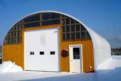 SteelMaster Metal Ag Storage Building