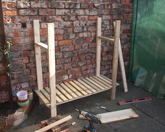 Potting Table__04 (chippykev) Tags: york diy gardening homeprojects pottingtable pottingbench kevinbailey joinerkev chippykev howtobuildadiypottingbenchchippykevkevinbaileypottingtable
