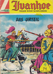 Ivanhoe 74 (micky the pixel) Tags: comics comic tournament knight jousting ivanhoe ritter heft tjost walterlehningverlag