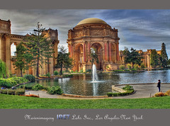 PALACE OF ARTS (mavenimagery) Tags: sanfrancisco california travel usa lake art architecture pond gothic columns landmark visit hdr palaceofarts iret mavenimagery maventalk