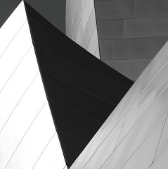 Walt Disney Concert Hall B&W 11 - USpecks_Photography